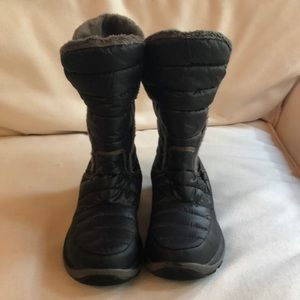 The North Face water resistant boots